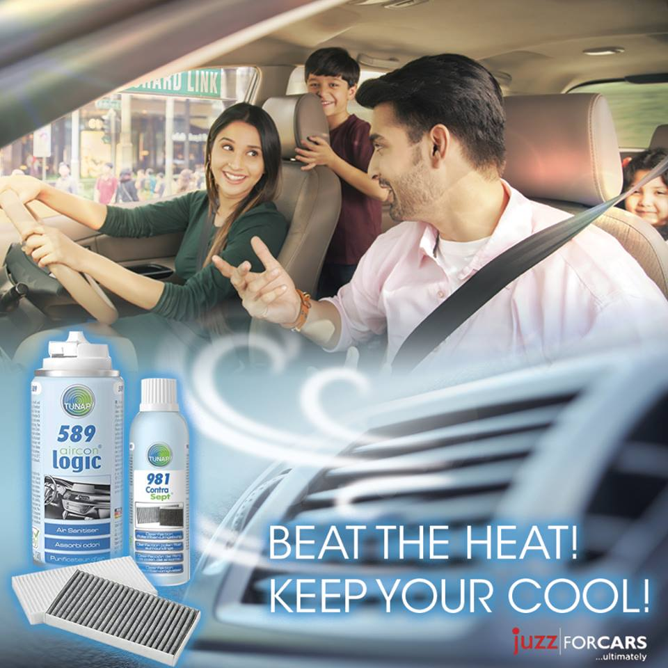 Juzz For Cars - Beat The Heat! Keep Your Cool!